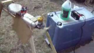 GMS 1.20 rc aircraft engine breakin