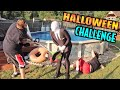 Slender Man Backyard Halloween Challenge (Halloween Game Master Tower Stage 3)