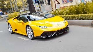 Những pha TĂNG TỐC mãn nhãn của Cường Đô La với Lamborghini Huracán | XSX