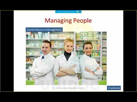 Introduction of Condensed MBA in pharmacy management