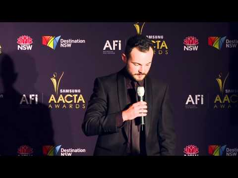 Daniel Henshall, media room, AACTA AWARD FOR BEST LEAD ACTOR  Snowtown