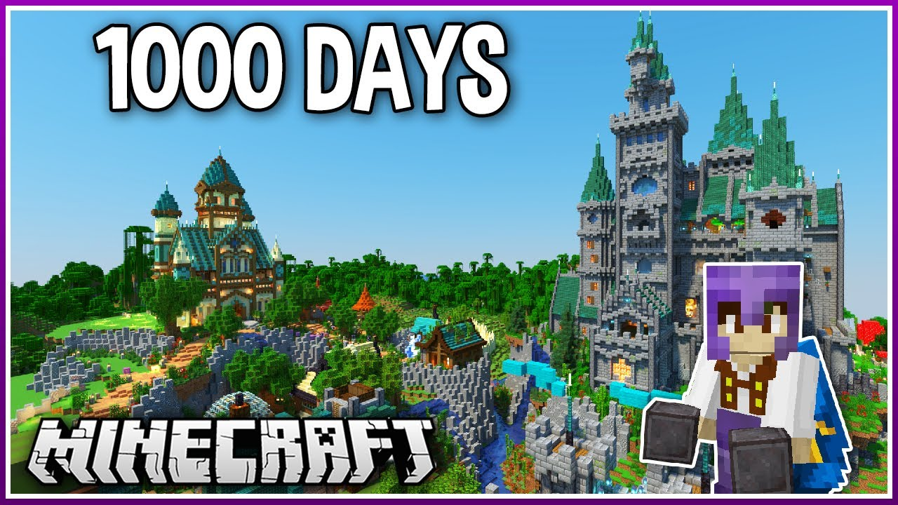 Download I Played Minecraft for 1000 Days.. (1.16 Survival)