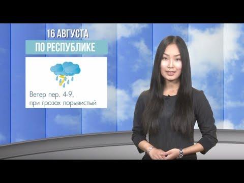 Дожди в Улан-Удэ. Погода с 16 по 18 августа