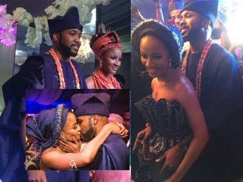 Download FULL VIDEO: Banky W And Adesua Etomi Traditional Wedding
