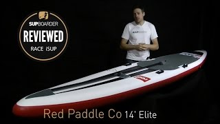 Red Paddle Co 14' Elite review / Race iSUP