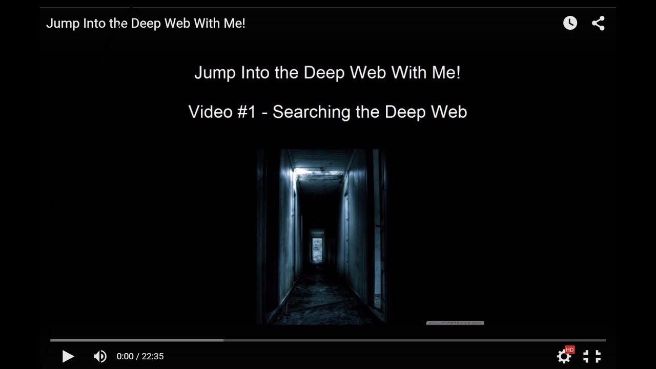 Searching The Deep Web  Video #1