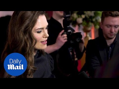 Keira Knightley stuns at the world premiere of The Aftermath