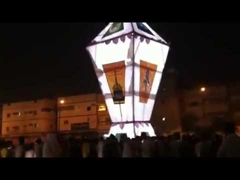 اكبر فانوس رمضان في العالم