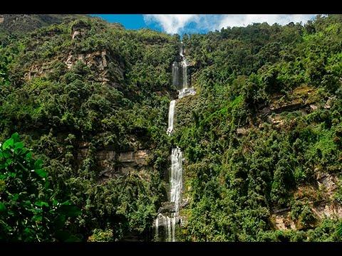 Cascada  La Chorrera, Choachí Cundinamarca
