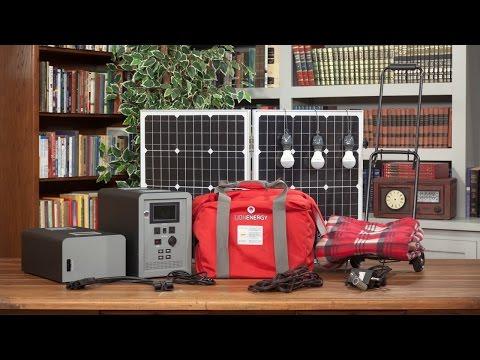 2017 Expandable FUEL-LESS Generator – Solar Generator