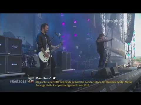Papa Roach Live @ Rock Am Ring 2015 HD | Getting Away With Murder/Last Resort/To Be Loved