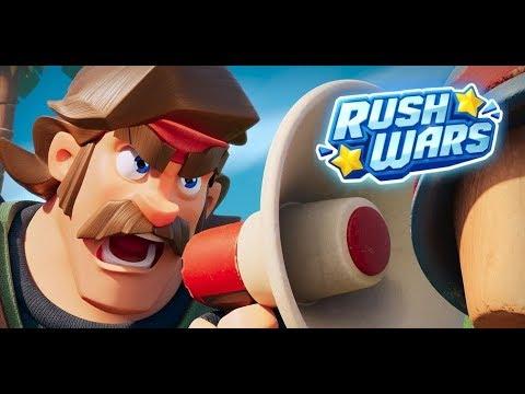 NEUES SUPERCELL SPIEL RUSH WARS TESTEN! Rush Wars deutsch