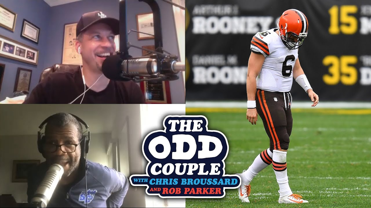 Chris Broussard & Rob Parker - Cleveland Browns Have a Dilemma At the Quarterback Position