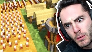 Minecraft: WILD Mini Villager War vs. X33N