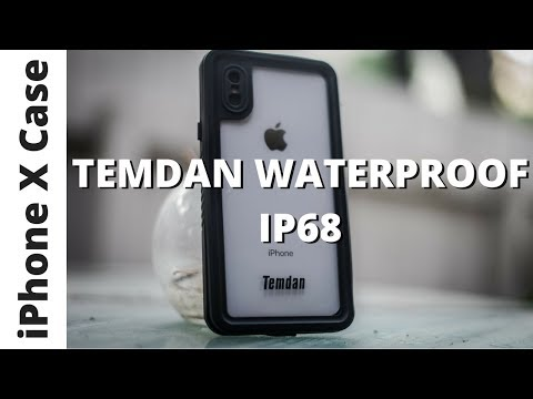 check out ae652 327b7 Temdan iPhone X Waterproof Case - Water Test! - YouTube