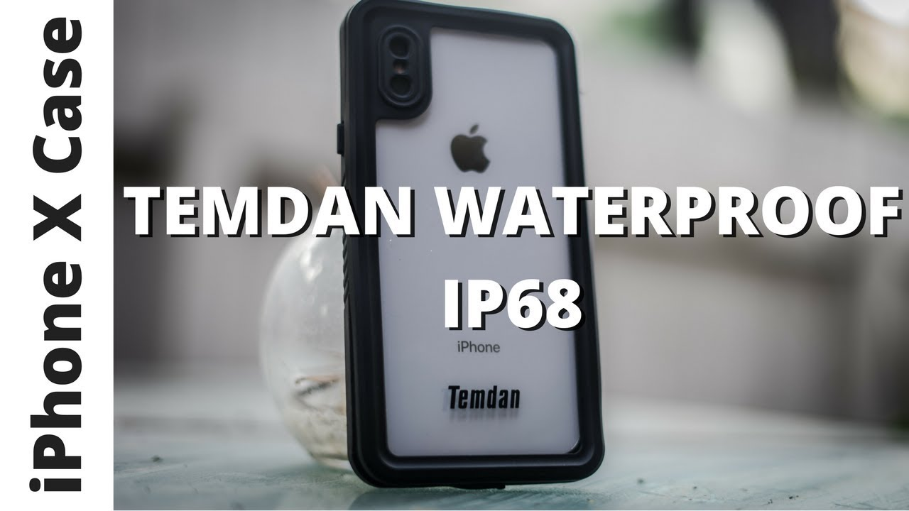 newest collection 45ec2 a7496 Temdan iPhone X Waterproof Case - Water Test!
