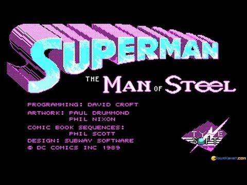 Superman gameplay (PC Game, 1989)