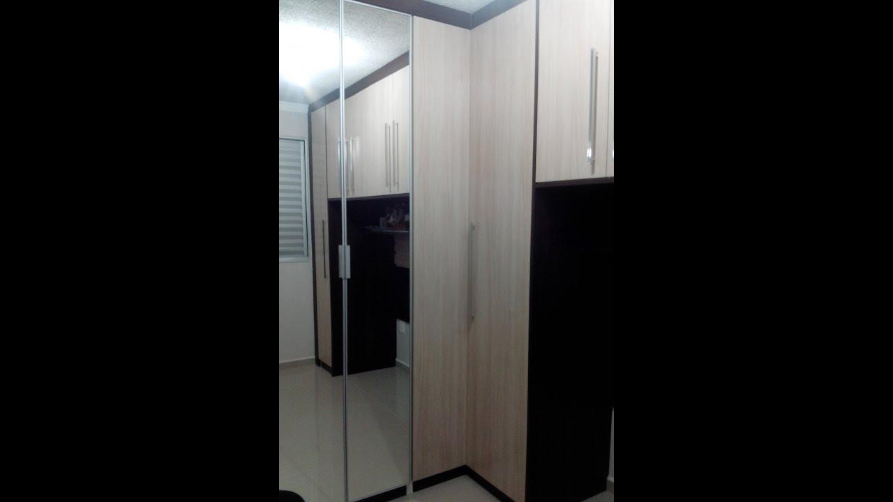 Guarda Roupa Em L ~ Guarda roupa em L planejado YouTube