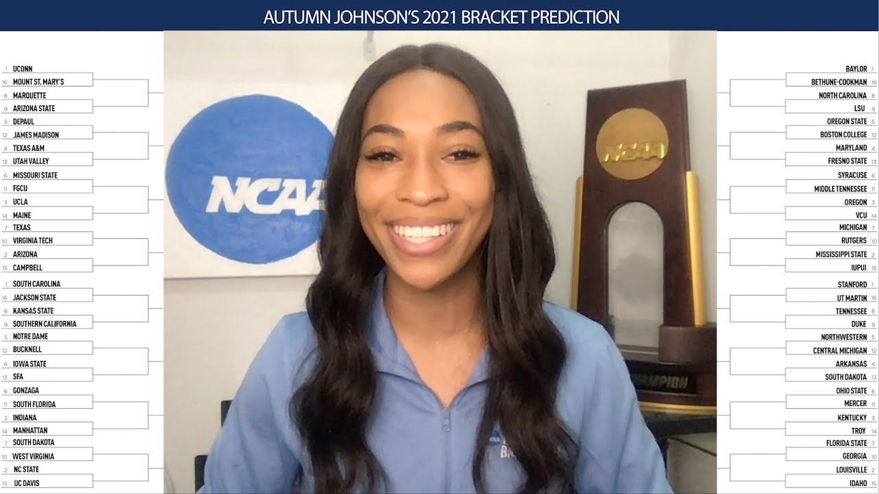 First 2021 women's NCAA tournament field prediction