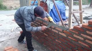 Batu bata, cara memasang batu bata yg baik dan rapi