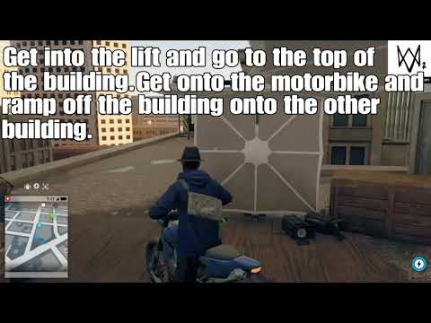 How to get the clothing item on the runners building by Embarcadero Center-Watchdogs 2