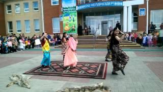 Индийский танец, 6 а сынып, 1 мамыр 2016, Заречная средняя школа с государственным языком обучения