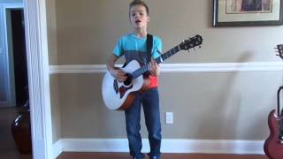 see you tonight covered by 12 year old matthew pinkham