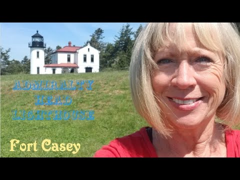 Fort Casey State Park Admiralty Head Lighthouse, WA - Full time van life