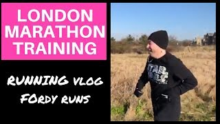 LONDON MARATHON TRAINING | WEEKLY RUNNING VLOG | FORDY RUNS (2018)
