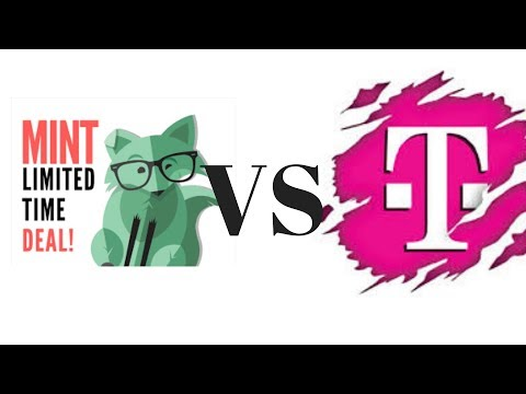 T Mobile One prepaid review vs Mint Mobile compare video