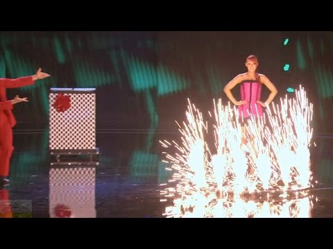 America's Got Talent 2016 Quick Change Magic Sos & Victoria Petrosyan Full Judge Cuts Clip S11E11