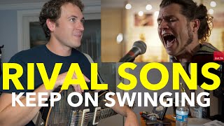 Guitar Teacher REACTS: Rival Sons - Keep On Swinging LIVE