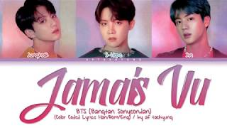 BTS (방탄소년단) - Jamais Vu (Color Coded Lyrics Han/Rom/Eng)
