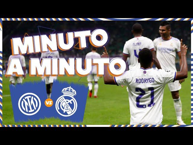 ⏱ MINUTO A MINUTO | Inter - Real Madrid