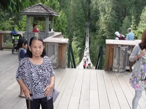inang's slide show -capilano suspension bridge, north vancouver, BC