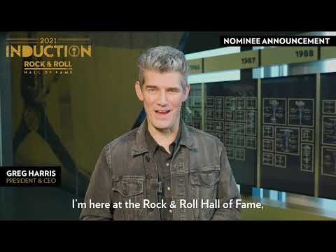 2021 Nominee Announcement - Rock & Roll Hall of Fame