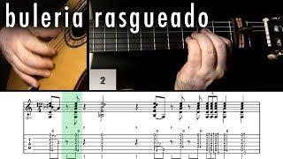 Flamenco Guitar 102 - 10 Buleria Rasgueado