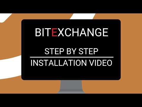 BitExchange Cryptocurrency Exchange Software Installation Video