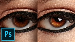 Add Brilliant Catchlights & Details to Eyes in Photoshop
