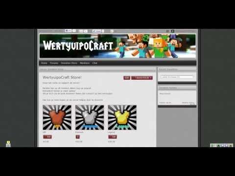 WertyuipoCraft Minecraft Server Website!