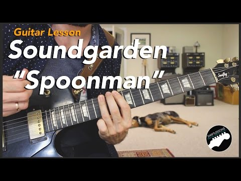 "How to Play Soundgarden ""Spoonman"" - Essential Rock Guitar Lessons"