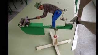 Aizkolaria - Leñador - Wood Chopping Whirligig