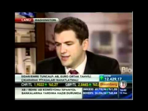 Emre Tuncalp BloombergHT Interview (06/12/2012)