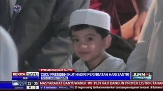 Download Video Cucu Jokowi Curi Perhatian Ribuan Santri di Surakarta MP3 3GP MP4