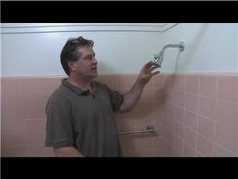Bathroom Fix It Tips How To Remove A Shower Head Ball Youtube