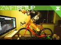 Setting Up My Zwift Pain Cave - w/ Kinetic Smart Trainer