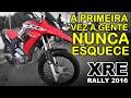 Primeiras impress�es Honda XRE 300 Rally ABS 2016