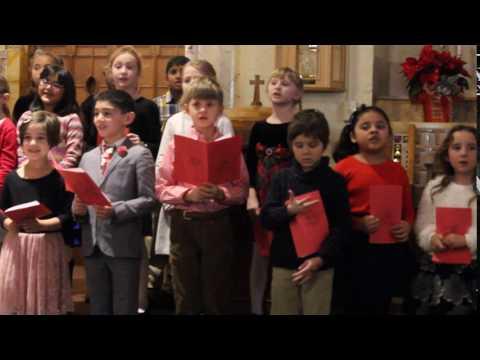 We Wish You A Merry Christmas ... Saint Bridget School 2016