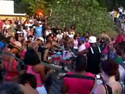 Martinican drum band