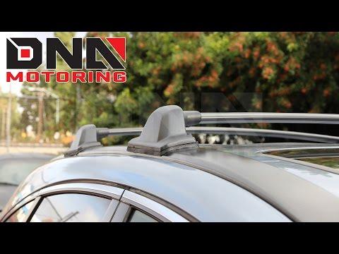 How To Install 07-11 Honda CRV Cargo Roof Rack